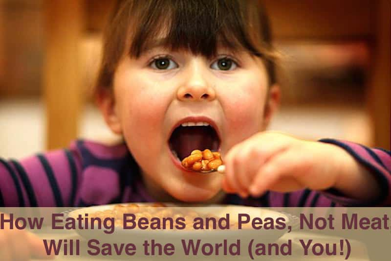 Eating beans and peas can improve your health and save the earth